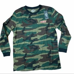Eighty Eight Vibes Camo long sleeve tee NEW